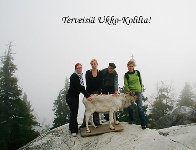 mikroPaliskunta expedition at Koli, 2006. (photo Eija Mäkivuoti)