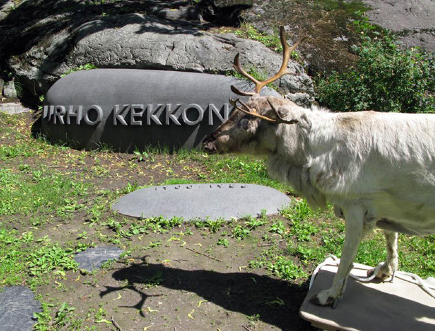 Reindeer's Urban Visit, 2008 (still image from video).