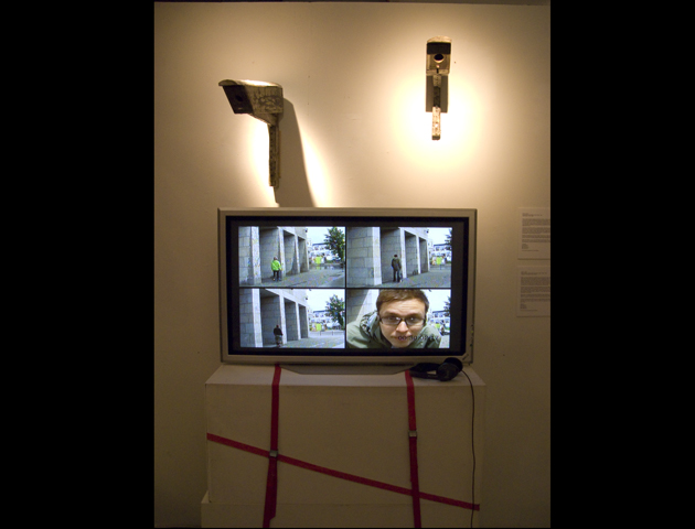 Installation Watch in an exhibition, 2009.