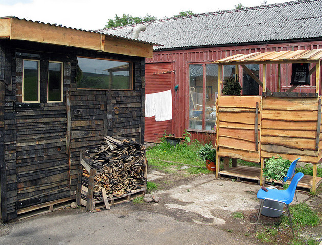 SSW Sauna, used whiskey barrels etc, 2015.