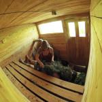 Beat to the Balance in SSW Sauna, 2015.