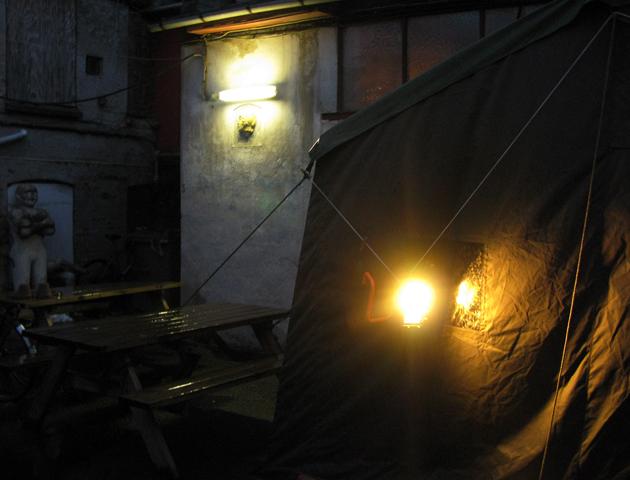 Astrid Noack's Atelier sauna, 2015.
