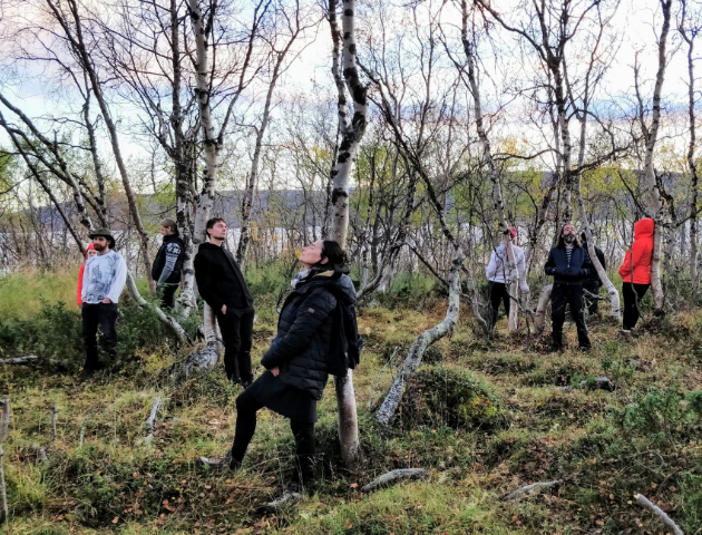 Holding Space with Trees in Kilpisjärvi, 2018. Photo: Martin Malthe Borch