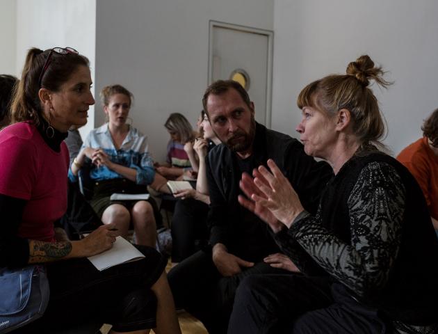 Empathy -workshop in Edge Effects in CCA Glasgow, 2017. Photo: Studio RoRo