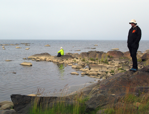 At Hanhikivi Cape.