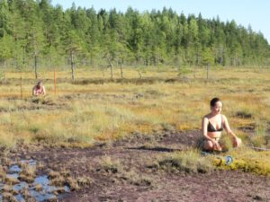 Holding Space with Peat. Photo: Ulla Taipale