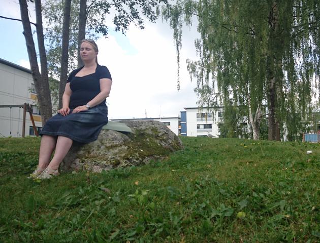 Lähirohtola, plant pharmacy, installation, detail (plant meditation), 2018.