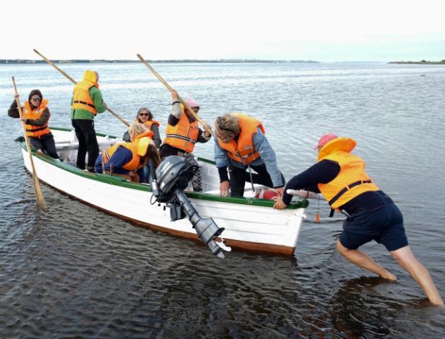 Trans-Limfjord boat connection, 2019. Photo: Katrine Skovsgaard